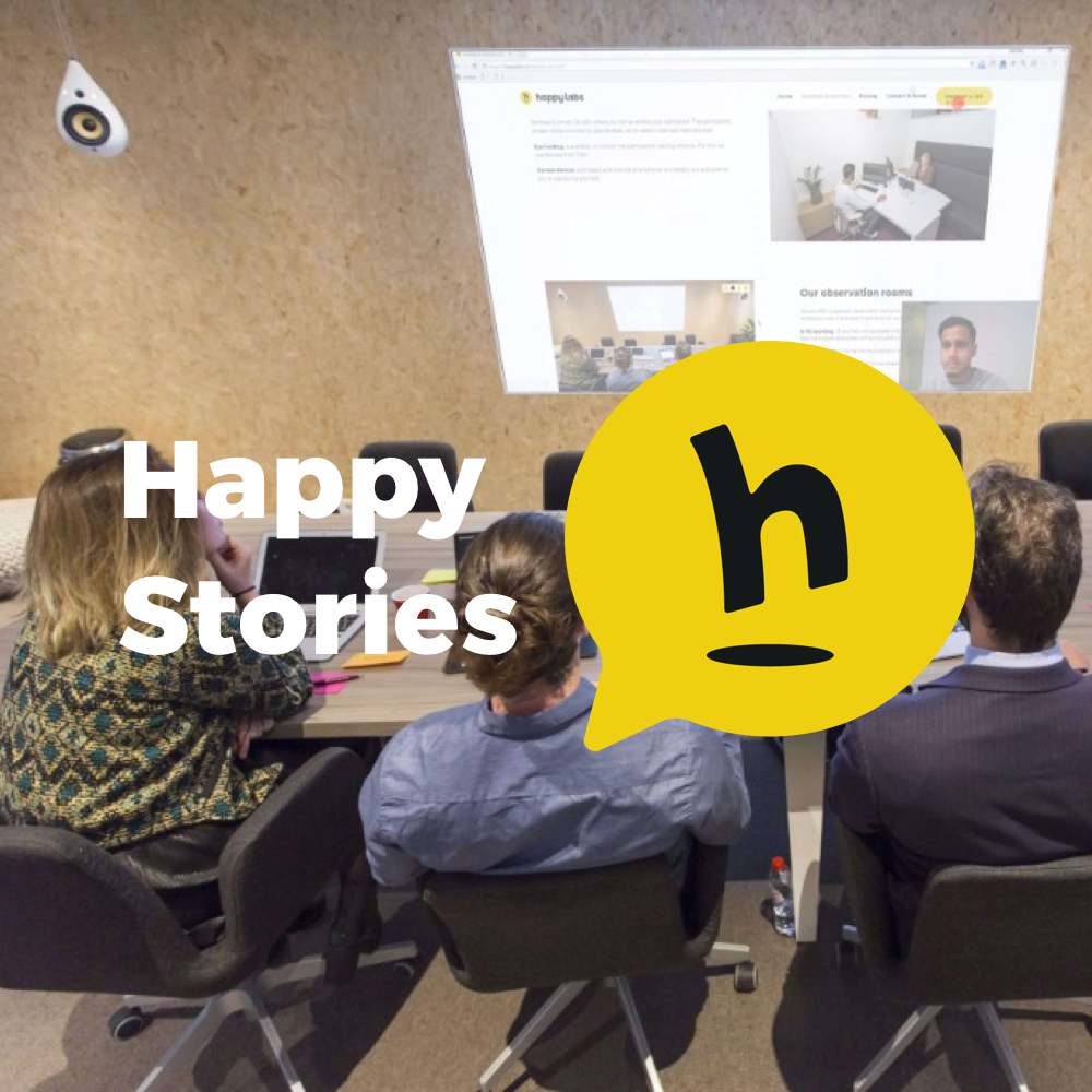 Happy Stories #7: Your own UX lab – Pros and Cons