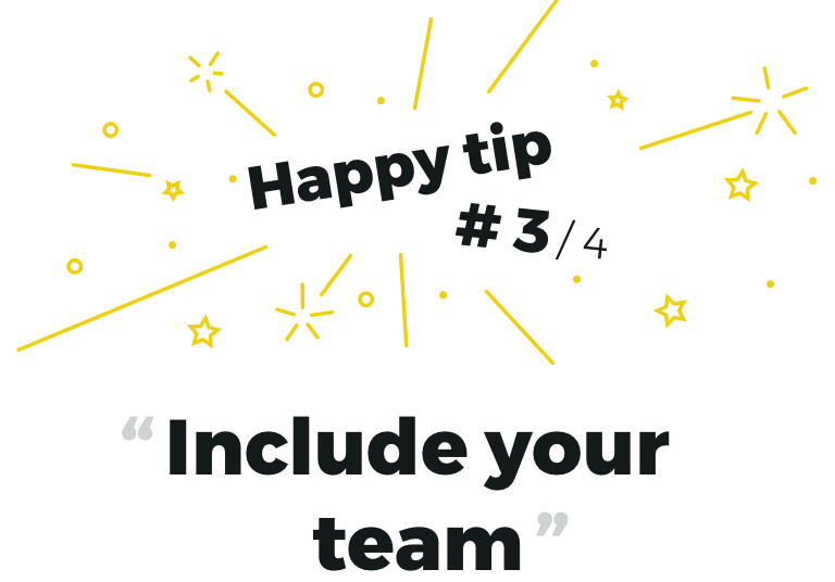 Remote research tip #3  Include your team